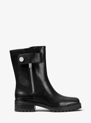 Michael Kors Meenal Calf Leather Boot