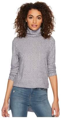 Kensie Rayon Rib Top KSDK3544 Women's Clothing