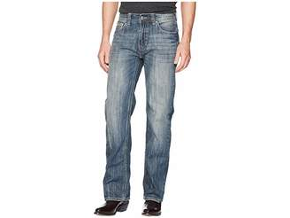 Rock and Roll Cowboy Double Barrel in Medium Wash M0S5123 Men's Jeans