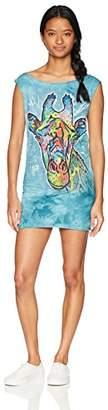 The Mountain Women's M Russo Giraffe Mini Dress