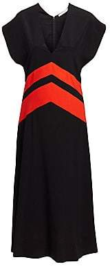 Givenchy Women's Silk Midi Dress
