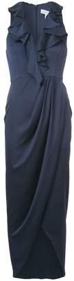 Shona Joy sleeveless ruffle maxi dress