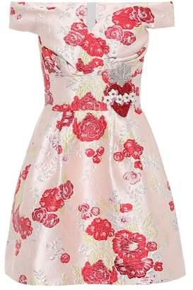 Dolce & Gabbana Off-the-shoulder jacquard dress
