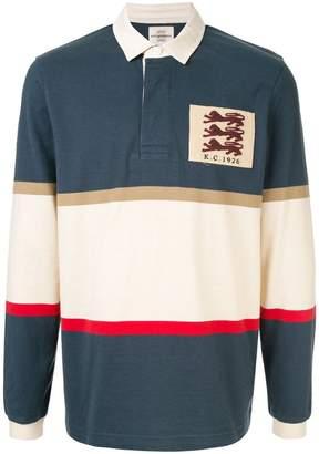 Kent & Curwen Veasley lions patch rugby shirt