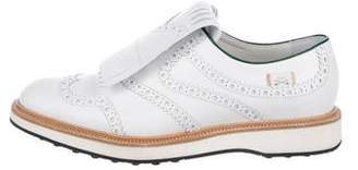 Gucci Brogue Leather Oxfords