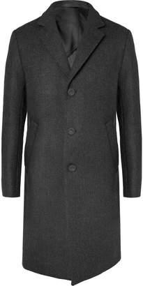Officine Generale Slim-Fit Wool Overcoat