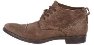 John Varvatos Distressed Ankle Boots
