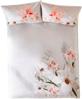 7ffa7e11e Ted Baker Chatsworth Bloom 100% Cotton Sateen 220 Thread Count Duvet Cover