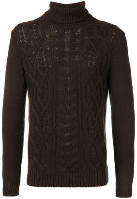 Tagliatore knitted roll neck sweater