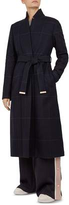 Ted Baker Samntha Checkered Trench Coat