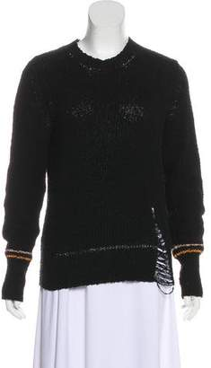 Raquel Allegra Embellished Long Sleeve Sweater