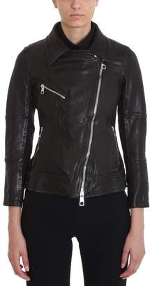 Neil Barrett Black Leather Biker Jacket