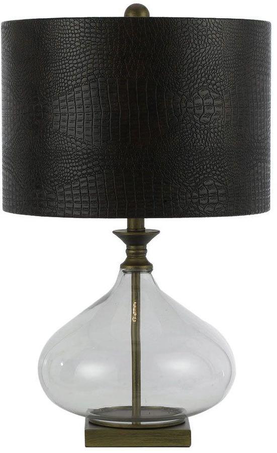 AF LightingAF Lighting Sanjay 24.5 in. Antique Brass/Blown Glass Table Lamp