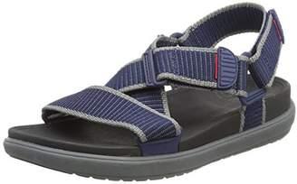 FitFlop Men's Sling II Back-Strap Sandals in Webbing Open Toe,43 EU