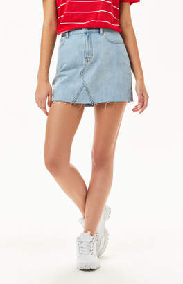 PacSun Vintage Light Indigo 5-Pocket Skirt