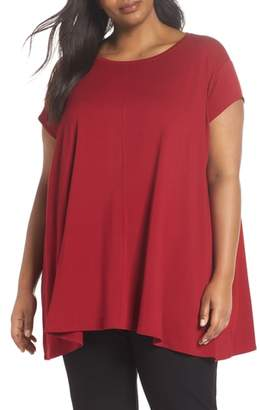 Eileen Fisher Scoop Neck Tunic