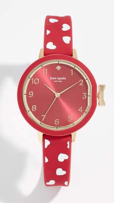 Kate Spade Hearts Park Row Watch, 33mm