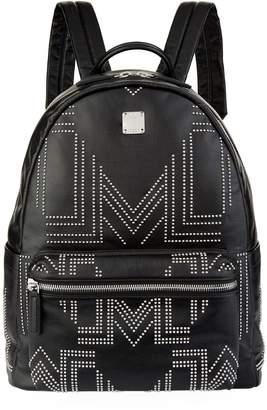 MCM Small Studded Stark Gunta M Backpack