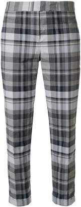 Thom Browne Variegated Check Low-rise Trouser