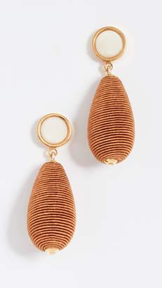 Lizzie Fortunato Terracotta Drop Earrings