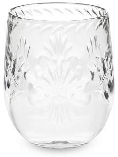 Williams-Sonoma Williams Sonoma Sonora Etched Stemless Wine Glasses