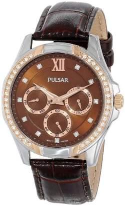 Pulsar Women's PP6098 Analog Display Japanese Quartz Watch