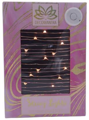 Decomantra Rose Gold LED String Lights