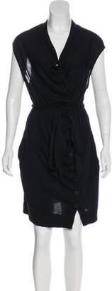 AllSaints Mini Button-Up Dress
