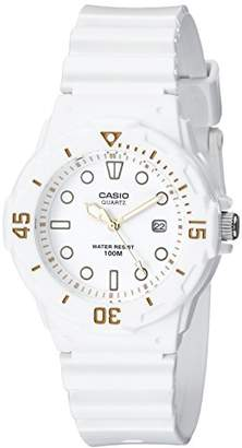 Casio Women's LRW200H-7E2VCF Dive Series Diver-Look White Watch