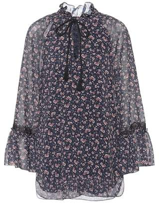 See by Chloe Floral-printed top