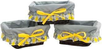 Pam Grace Creations Wicker Basket Set