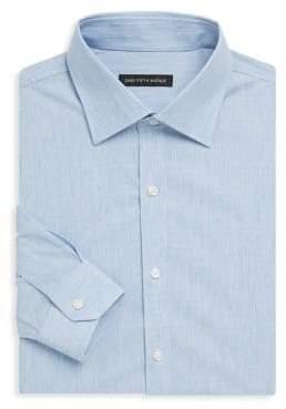 Saks Fifth Avenue Melange Denim Dress Shirt