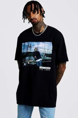 boohoo Ice Cube Oversized License T-Shirt