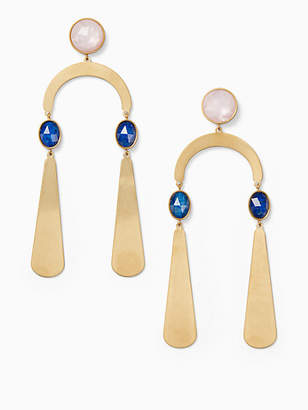 Kate Spade Sunshine stones mobile statement earrings