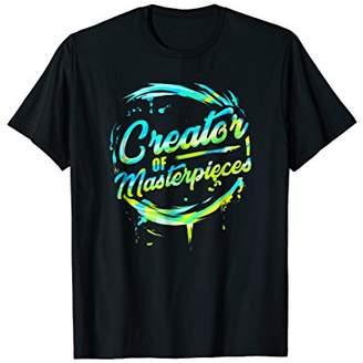 Artist T-Shirt Creator of Masterpieces