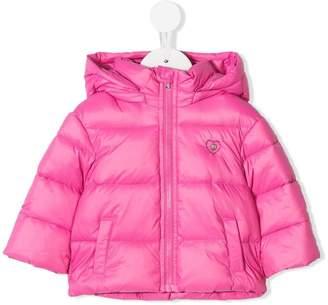 Diesel hooded puffer jacket