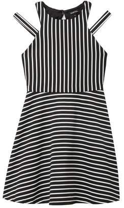 661ef7dc590c Zunie Ottoman Stripe Dress (Big Girls)
