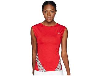 Eleven Paris by Venus Williams Sprint Collection Backup Cap Sleeve Top Women's Sleeveless