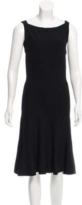 Alaia Sleeveless Midi Dress