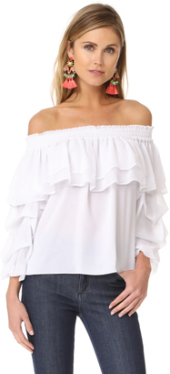 MISA Elyse Top $198 thestylecure.com