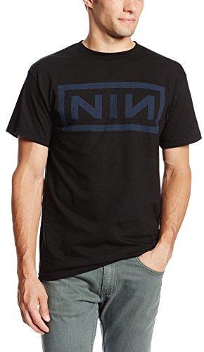 Bravado Men's Nine Inch Nails Navy T-Shirt