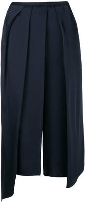 Chalayan draped cropped trousers
