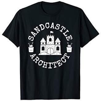 Sandcastle Architect Shirt Funny Beach Tee