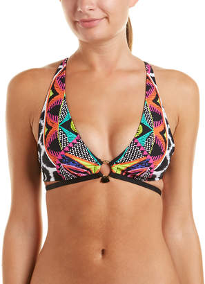 Trina Turk Africana Halter Bikini Top