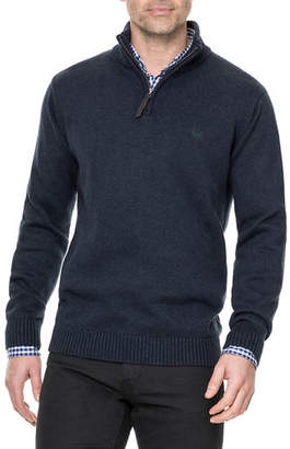 Rodd & Gunn Men's Merrick Bay Half-Zip Cotton Sweater