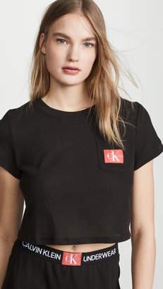 Calvin Klein Underwear Monogram Mesh PJ Top