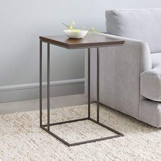 west elm Streamline C-Side Table - Dark Walnut