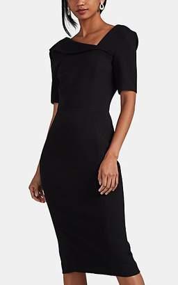 Zac Posen Women's Bonded Crepe Sheath Dress - Black