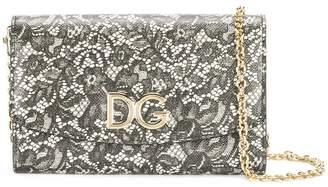 Dolce & Gabbana lace print clutch