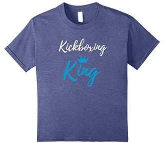 Kickboxing King T-Shirt Funny Kickboxer Gift Shirt